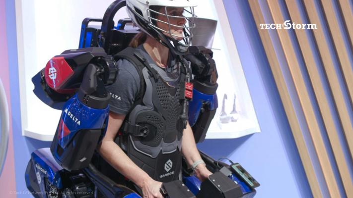 Exoskeleton Gives U Superhuman Strength