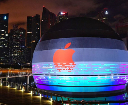 Apple to open first store that sits on water in Singapore