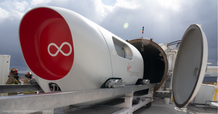 First Passengers Travel Safely on Hyperloop – Virgin's new transport system