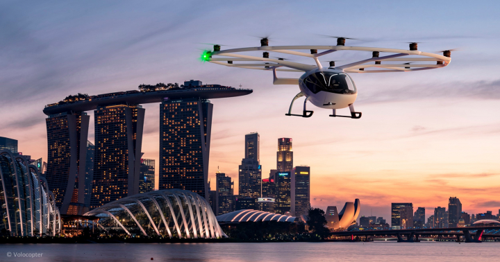 Singapore May Be First In Asia To Get Air Taxi Services