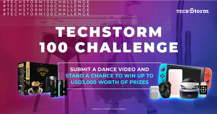 TechStorm Turns Two – Celebrates with #TechStorm100Challenge Dance-Away Social Contest