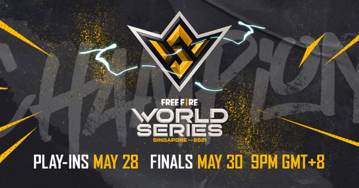 Play-Ins for the Free Fire World Series 2021 Singapore to take place on 28 May, 2021; Finals on 30 May, 2021