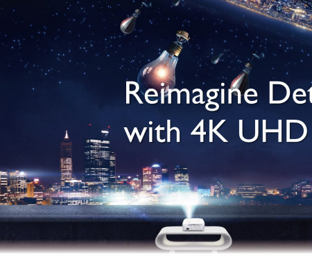 BenQ Launches World's First 4K HDR Gaming Projector