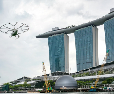 Volocopter Takes to the Skies