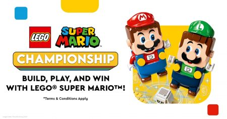 The LEGO Group Brings 2-player Action to the LEGO(R) Super Mario™ Universe